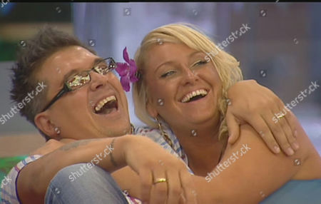 Stock Image of Dave Vaughan and Josie Gibson