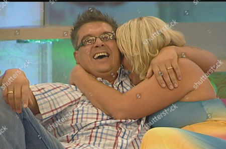 Dave Vaughan and Josie Gibson