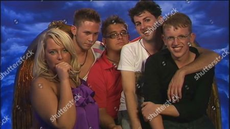 Stock Photo of The Final Five - Josie Gibson, JJ Bird, Dave Vaughan, Mario Mugan and Andrew Edmonds