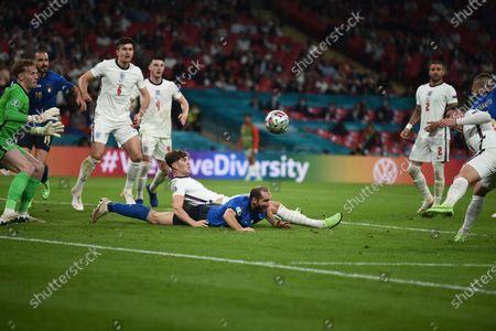 Editorial photo of Soccer: UEFA European Championship 2020: Italy 4-3 (d.c.r) England, London, England - 11 Jul 2021