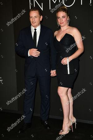 Benoit Magimel and Margot Pelletier
