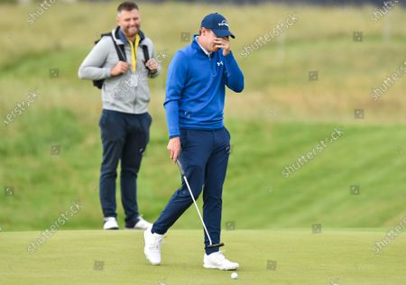 Editorial image of The British Open Golf, Practice, Royal St George's, Kent, UK - 13 Jul 2021