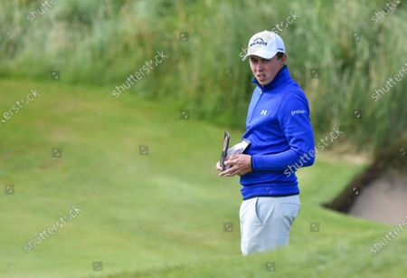 Editorial picture of The British Open Golf, Day Two, Royal St George's, Kent, UK - 16 Jul 2021