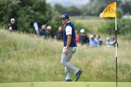 Stock Picture of Phil Mickelson on the 2nd green