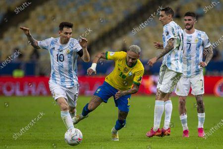 Editorial image of Brazil v Argentina, Copa America, Final Football match, Maracana, Rio de Janeiro, Brazil - 10 Jul 2021