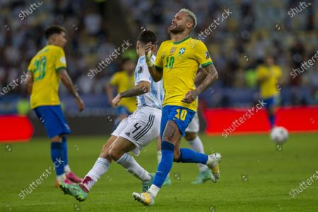 Editorial picture of Brazil v Argentina, Copa America, Final Football match, Maracana, Rio de Janeiro, Brazil - 10 Jul 2021