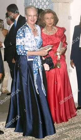 Queen Margrethe II and Queen Sofia
