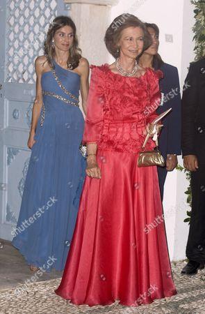 Crown Princess Letizia and Queen Sofia