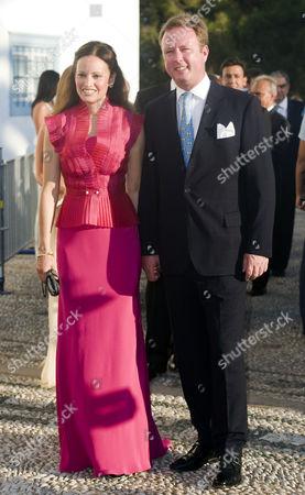 Carina Axelsson and Prince Gustav of Sayn-Wittgenstein-Berleburg