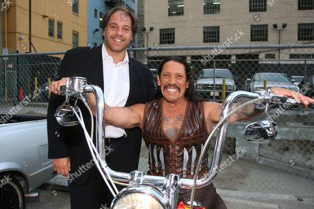 Stock Picture of Jeffrey Godsick and Danny Trejo