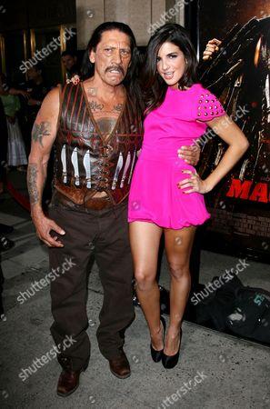 Danny Trejo and Electra Avellan
