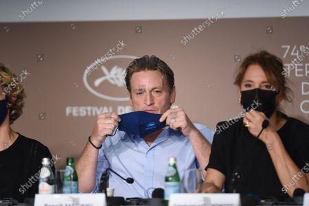 Emmanuelle Bercot and Benoit Magimel