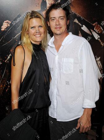Jason London and wife Charlie Spradling