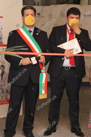 Editorial image of SWFF 2021 exhibition Marcello Mastroianni, Vico Equense, Campania/Napoli, Italy - 11 Jul 2021