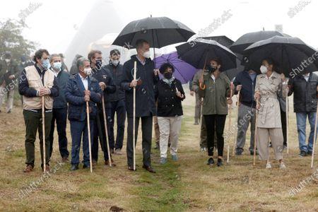 Editorial photo of King and Queen of Spain visit Roncesvalles, Roncesvalles Navarra - 12 Jul 2021