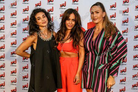 Camelia Jordana, Amel Bent and Vitaa