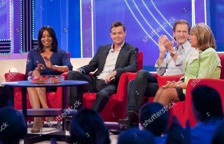Stephen Mulhern, Paul Rankin and Eve Pollard