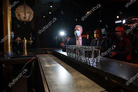 Editorial picture of Alain Griset discotheque reopening, Paris - 09 Jul 2021