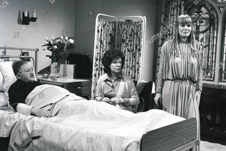 Ronald Fraser, Betty McDowell and Jane Wymark