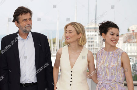 Nanni Moretti, Alba Rohrwacher and Gea Dall'Orto