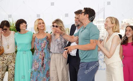 Cast - Elena Lietti, Denise Tantucci, Margherita Buy, Riccardo Scamarcio, Alba Rohrwacher
