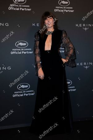 Stock Picture of Lou Doillon poses for photographers upon arrival at the Kering Women In Motion Awards during the 74th international film festival, Cannes, southern France