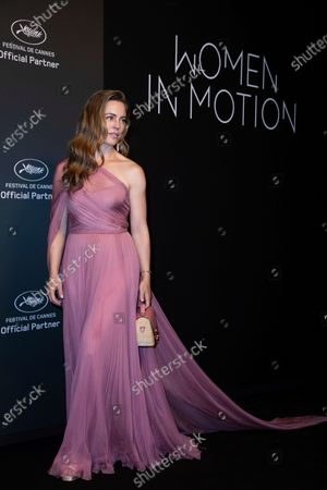 Stock Picture of Melissa George poses for photographers upon arrival at the Kering Women In Motion Awards during the 74th international film festival, Cannes, southern France