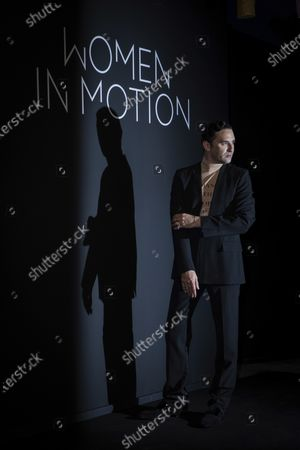 Nicolas Maury poses for photographers upon arrival at the Kering Women In Motion Awards during the 74th international film festival, Cannes, southern France