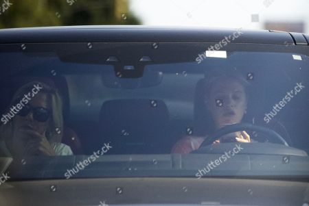 Stock Image of Exclusive - Meredith Mickelson seen in Los Angeles for the first time since the passing of her brother, Daniel Mickelson