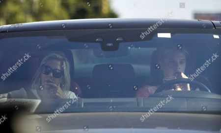Exclusive - Meredith Mickelson seen in Los Angeles for the first time since the passing of her brother, Daniel Mickelson
