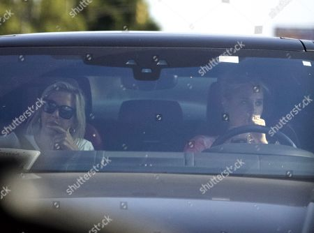 Stock Photo of Exclusive - Meredith Mickelson seen in Los Angeles for the first time since the passing of her brother, Daniel Mickelson