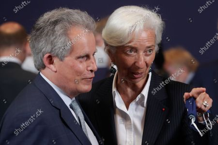 Editorial image of Meeting of Eurogroup Finance Ministers,, Brussels, Belgium - 12 Jul 2021