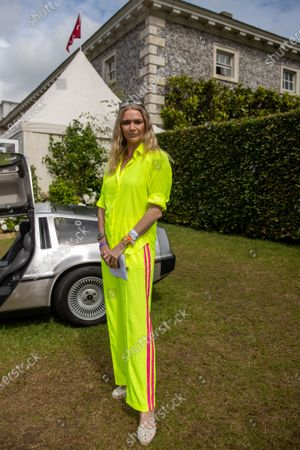 Jodie Kidd attends Cartier 'Style et Luxe' at Goodwood
