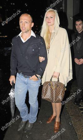 Matt Dawson with Carolin Hauskeller