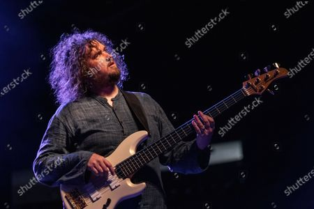 Stock Photo of Matthew Milligan of Wheatus performs in concert during the Summerland Tour at the HEB Center