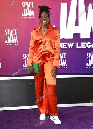 """Editorial image of World Premiere of """"Space Jam: A New Legacy"""", Los Angeles, United States - 12 Jul 2021"""