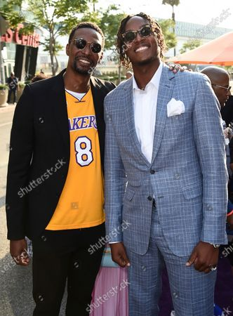 """Editorial picture of World Premiere of """"Space Jam: A New Legacy"""", Los Angeles, United States - 12 Jul 2021"""