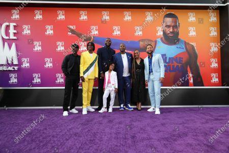 Don Cheadle, Ceyair J Wright, LeBron James, Harper Leigh Alexander, Malcolm D. Lee, Director, Sonequa Martin-Green, John Legend
