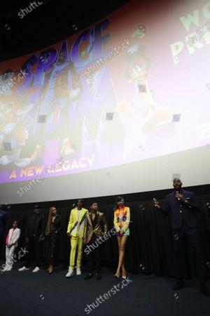 Malcolm D. Lee, Director, Don Cheadle, Cedric Joe, Sonequa Martin-Green, Ceyair J Wright, Zendaya, LeBron James, Harper Leigh Alexander