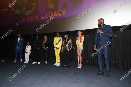 Malcolm D. Lee, Director, Harper Leigh Alexander, Don Cheadle, Sonequa Martin-Green, Ceyair J Wright, Cedric Joe, Zendaya, LeBron James