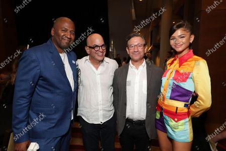 Malcolm D. Lee, Director, Jeff Goldstein, President of Domestic Distribution of Warner Bros. Pictures, Josh Goldstine, Head of worldwide marketing at Warner Bros. Pictures, Zendaya