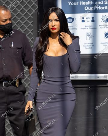 Stock Image of Megan Fox is seen at 'Jimmy Kimmel Live'