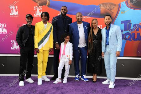 Editorial photo of 'Space Jam: A New Legacy' film premiere, Arrivals, Los Angeles, California, USA - 12 Jul 2021