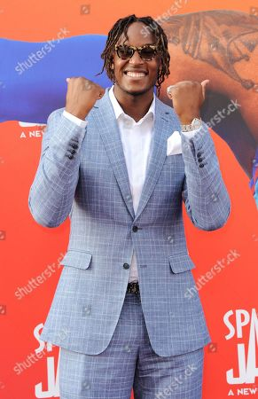 Editorial image of 'Space Jam: A New Legacy' film premiere, Arrivals, Los Angeles, California, USA - 12 Jul 2021