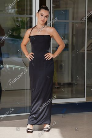 Editorial picture of Celebrities out and about, 74th Cannes Film Festival, France - 12 Jul 2021