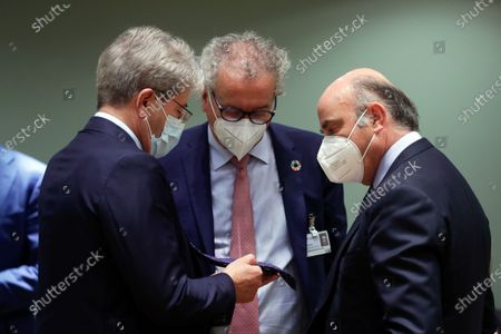 Editorial image of ECOFIN Finance ministers' meeting in Brussels, Belgium - 13 Jul 2021