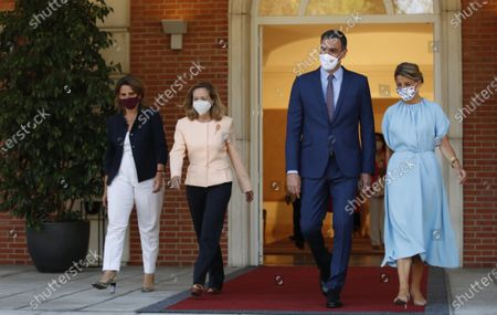 Editorial image of New Ministers attend weekly Cabinet Meeting for the first time, Madrid, Spain - 13 Jul 2021