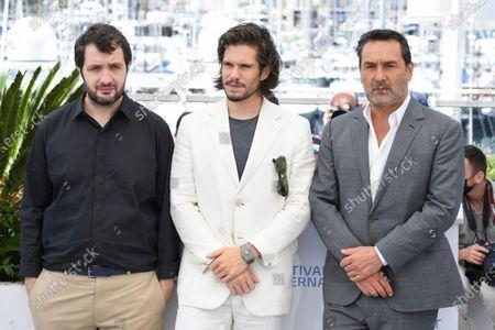 Stock Image of Karim Leklou, Francois Civil and Gilles Lellouche