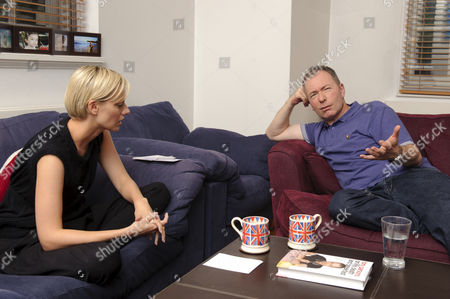 Editorial picture of Author Tony Parsons at his north London home, London, Britain - 26 Aug 2010