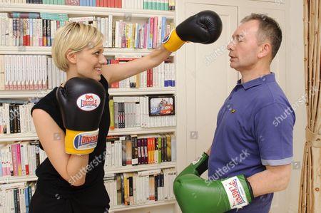 'Story Book' journalist Jelena Velijaca and author Tony Parsons